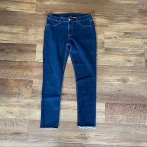 H&M stretch high rise skinny ankle jeans size 30